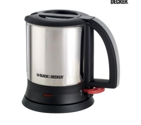 Black & Decker Stainless Steel Cordless Electric Kettle
