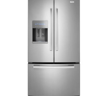 Whirlpool Stainless Steel 29 cuft French Door with Dispenser