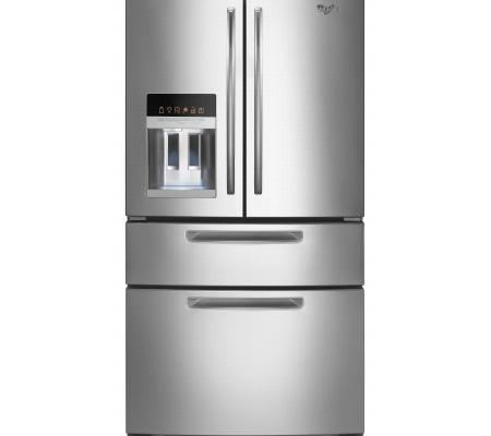 Whirlpool 4 Door French Door Stainless Steel Refrigerator