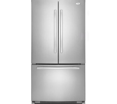 Whirlpool 23 cu.ft. Stainless Steel French Door Refrigerator