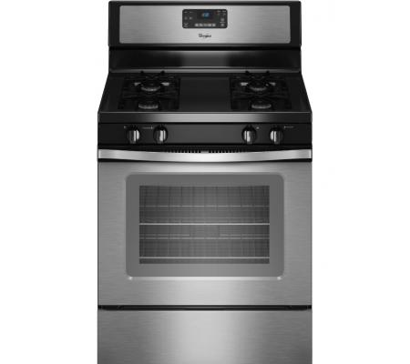 Whirlpool Self Cleaning 30 Inch Gas Oven Stainless