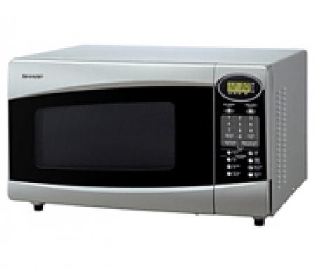 Sharp 33 Liter Stainless Steel Microwave