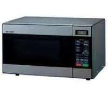 Sharp 22 Liter Stainless Steel Microwave