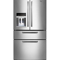 Whirlpool 4 Door French Door Stainless S...