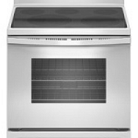 Whirlpool Smoothtop Electric White Stove...