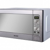 Sharp 62 Liter Microwave in Stainless St...