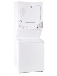 White Westinghouse, by Electrolux, Stack Laundry Center