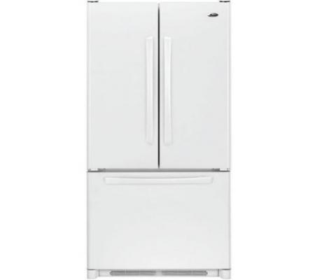 Whirlpool 28 Cu Ft French Door Refrigerator In White