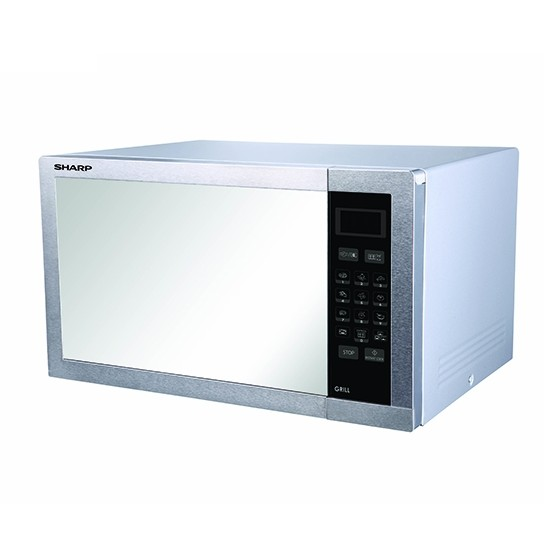 SHARP 34 Liter Stainless Steel Microwave