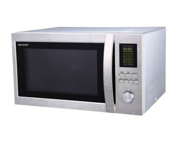 Sharp 1.5 cu ft Stainless Steel Microwave with Grill